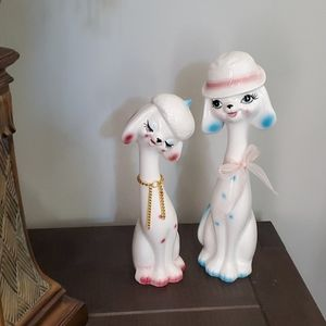 Other - Ceramic stands decor, a pair